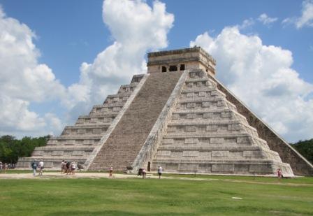 El Castillo, aka the Temple of Kukulkan