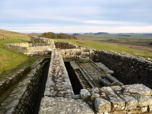Latrines, Housesteads Fort