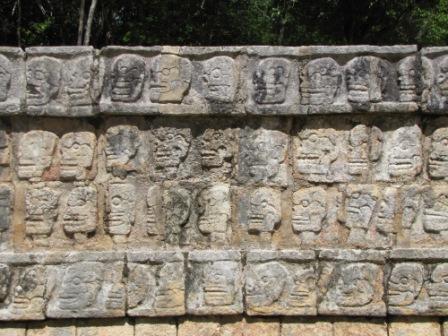 Wall of Sacrificial Skulls