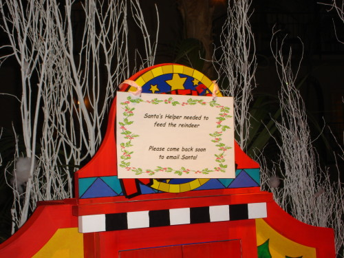A message for children of all ages at the Opryland in Nashville (MCArnott)