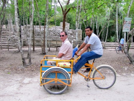 The Mayan Limousine
