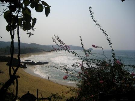 Zipolite's Beautiful Coastal Stretch
