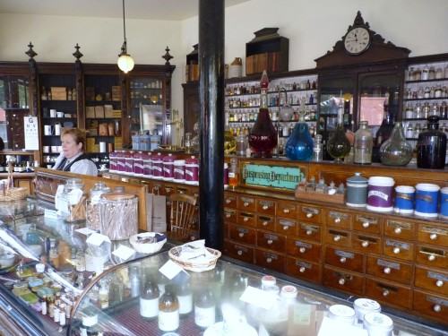 Pharmacist's Shop, Blists Hill Victorian Town