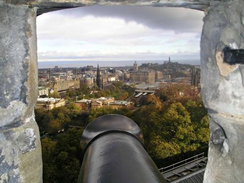 View from the Edinburgh Castle, Scotland