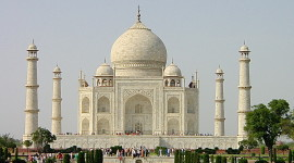 The construction of the Taj Mahal in the 17-th century took 22 years (Photo credit: MCArnott)