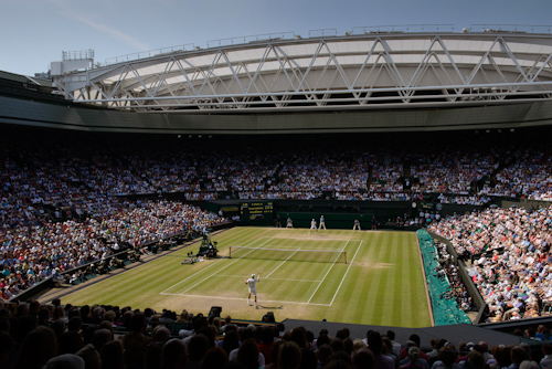 Wimbledon's Centre Court is the tennis world't most prestigious court. (photo credit: © AELTC)