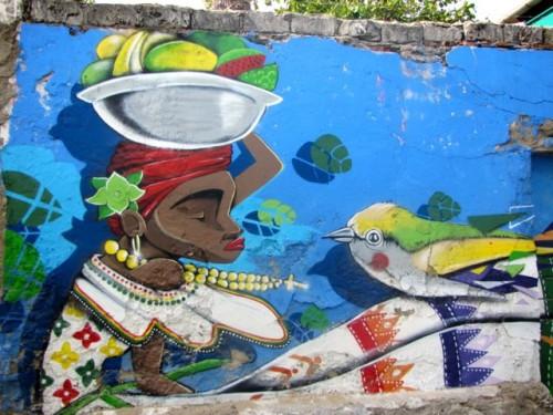 Fantastic Graffiti Murals in an Old City Alleyway