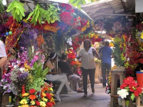 The Flower Stalls Just Around the Corner