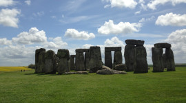 The stones of Stonehenge