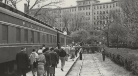 1950s train to French Lick