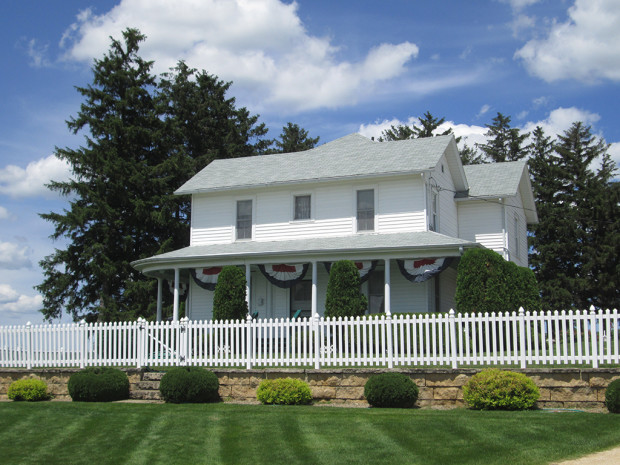 The Lansing Home is a slice of Americana