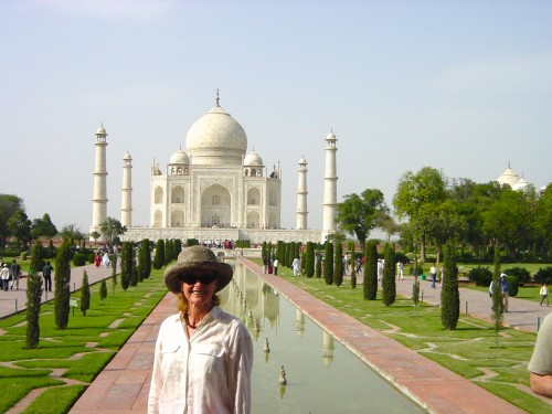 Off my bucke tlist: the Taj Mahal (photo by JR Arnott)