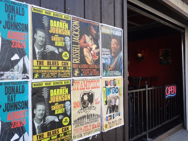 The Blues Can is a hub for live music in Inglewood (photo credit: Laura Byrne Paquet, c 2013).