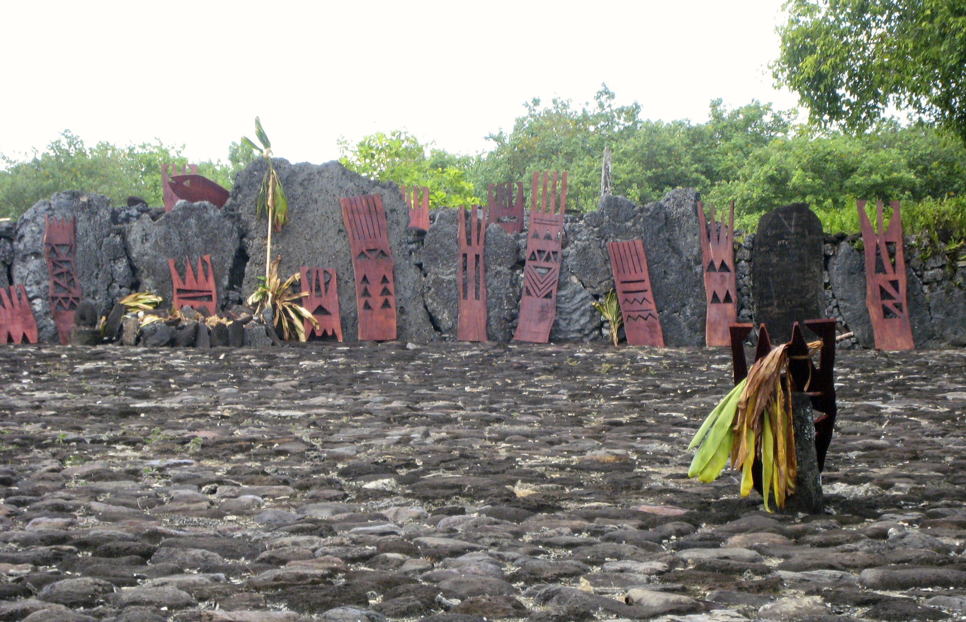 Taputapuatea Marea is the second most important archaeological site in all of Polynesia (Photo: MCArnott)