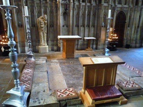 St Cuthbert's Tomb