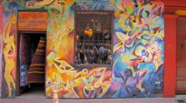 Street Art Shop with a Graffiti Front