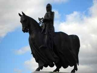 The Statue of Robert the Bruce at Bannockburn