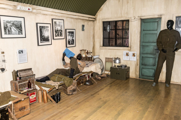 This World War II museum is set up in an old army camp in the eastern Iceland town of Reydarfjordur. During the early days of WWII, the village had fewer than 400 residents along with more than 3,000 British soliders. Photo by Cardozo