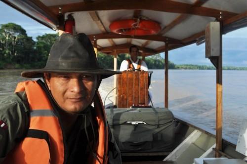 Amazon tranportation is by boat