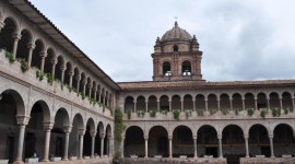 Santa Domingo, built on Coricancha