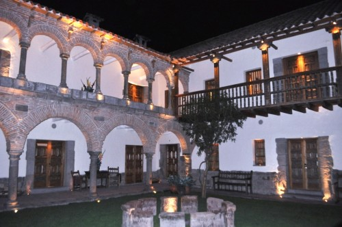 La Casona Cusco is in a colonial courtyard buillding