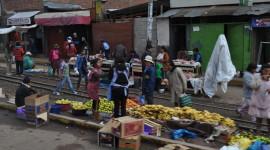 A Street Market in Lima