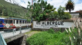 Station at Ollantaytambo