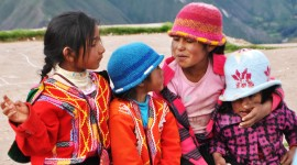 Children in the Sacred Valley