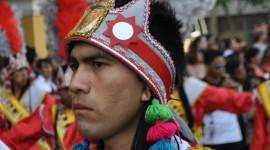 lima carnaval dancer