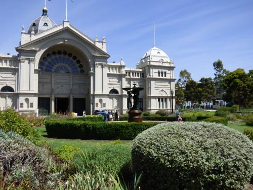 Royal Exhibition Building, West Door