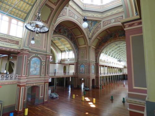 Main Hall and Balcony