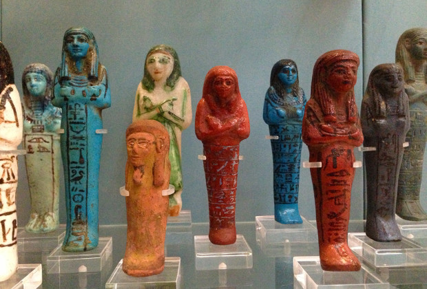 Funerary objects from Egypt